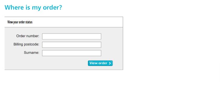 argos online order track