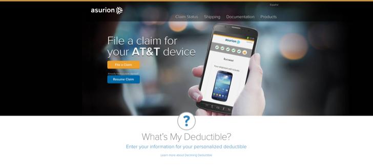 file an asurion phone claim online