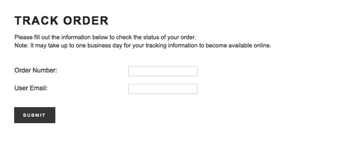 forever 21 online order tracking