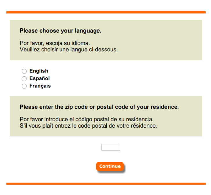 take part in the Home Depot opinion survey