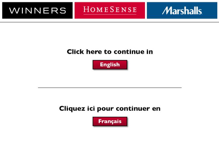 homesense customer survey