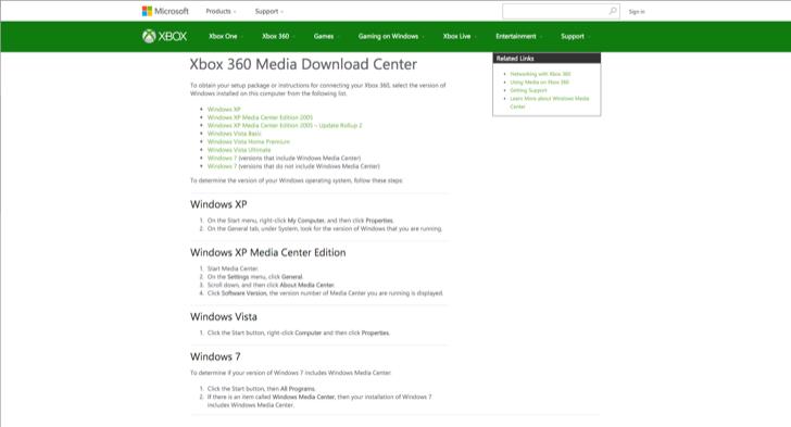 set up windows media center on your xbox 360