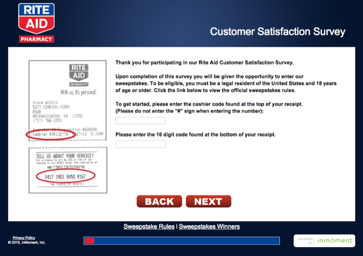 rite aid customer survey