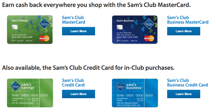 Samsclub Com Credit Login >> Www Samsclub Com How To Apply For A Sam S Club Mastercard For Rewards