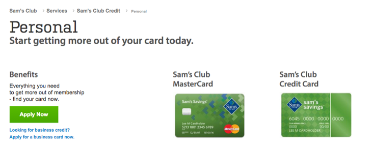 apply for a sam's club mastercard to get rewards