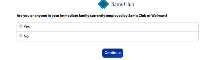 sams club member experience survey