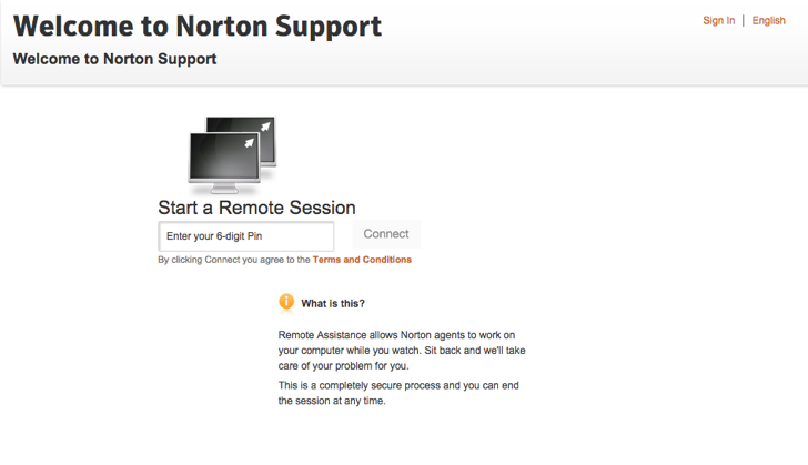 www norton com/link - How To Start A Remote Session With A