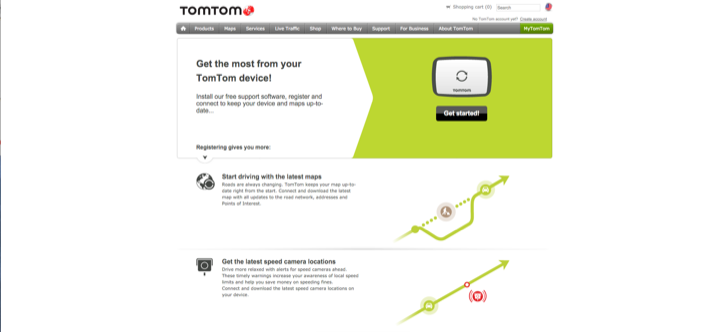 download and setup mytomtom support application for tomtoms special offers