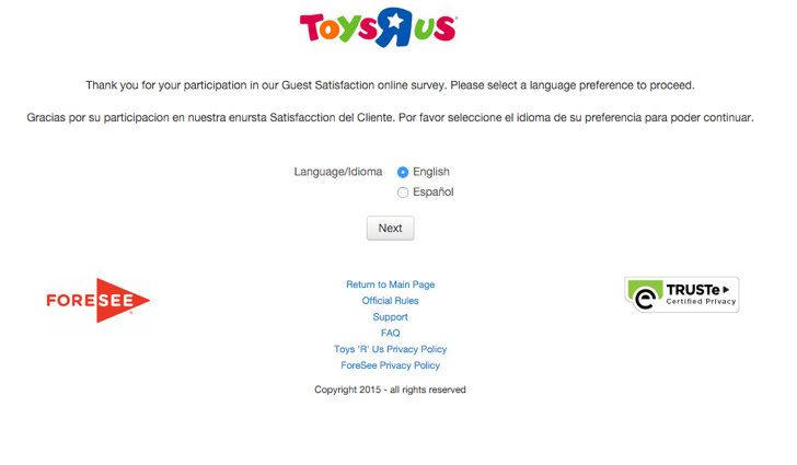 participate in the Toys