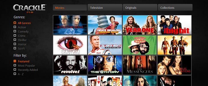 Image Result For Crackle Tv Activate