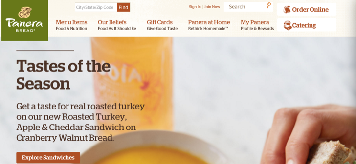 Mypanera Panerabread Com How To Register Activate A Card